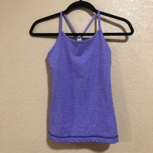 Girls Ivivva Sz 14 Purple Tank Top Lululemon kids
